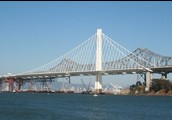 The finished East Section of the Bay Bridge
