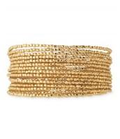 Bardot - gold bangle