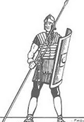 Become a Roman Soldier today