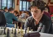 Grandmaster Jahongir Vakhidov in action