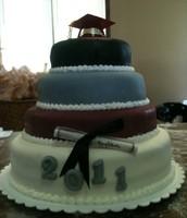 Danville graduation cake