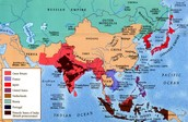 Colonialism in Asia Geography 1700s