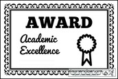 Grade Level End of the Year Class Adwards