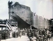 The first concrete ship crosses the Atlantic in 1918