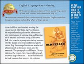 CCRS ELA Standard of the Week - 5th grade