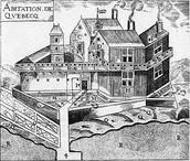 Quebec in 1608