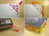 Envelope Book Marks