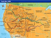Trails West Map