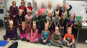 Pajama Day and Reindeer Hats!!