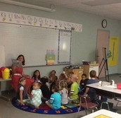 Mrs. Mazur's class at reading time!