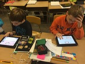 Creating Popplets over main ideas and details!