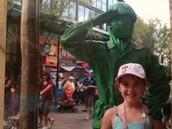 iba de vacaciones a Disney