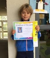 Congratulations Alex!