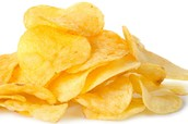 Chips lower in price