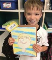 Second grade: Self Portrait