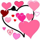 Valentine Candy Grams!                                     Wednesday, 10 February