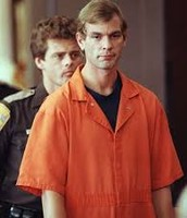 Dahmer at trial after being convicted