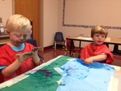 Gabriel and Max painting