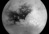 Titan, Dione's neighboring moon: