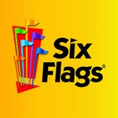I went to six flags with my church group over the summer