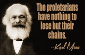 A famous quote from Karl Marx