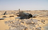 Crashed WWII Fighter Found in the Sahara after 70 Years