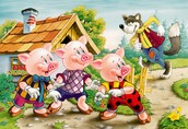 The Three Little Pigs  & The Big Bad Wolf