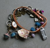 Bird House Wrap Bracelet