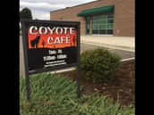 Coyote Cafe Opens to the Public September 22nd