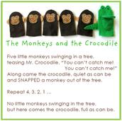Monkeys and the Crocodile