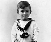 Alan Turing as a kid