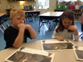 Sam and Julia are close reading!