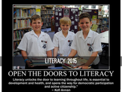 LIBRARY & LITERARY EVENTS TERM 2
