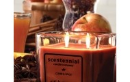 Scentennial Candle Company 15 oz. Two-Wick Square Jar