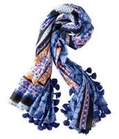 Stella & Dot Capri Cotton Wrap; orig $59; sale $25