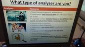 Building editing and analysing skills