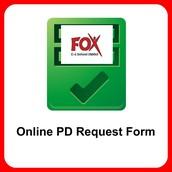 Online Professional Development Requests
