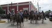 Pasear a caballo: