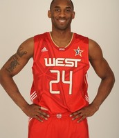 HE PLAYS FOR THE WEST ALL STARS