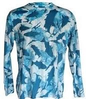 camisa de manga larga de pesca