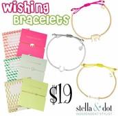 Wishing Bracelets $19