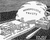 Political - Clayton and Sherman anti-trust act