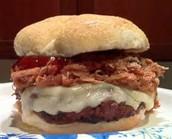 Schweinefleisch-hamburger