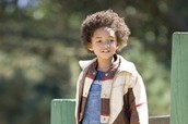 Chris Gardeners son in the movie Christopher played by Jaden Smith