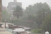 Rain in Mexico
