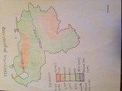 Venezuelan Phyical map