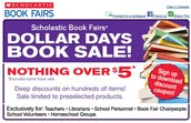 Scholastic Book Sale Event