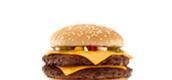 quarter pounder burger