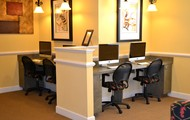 Business Center with iMac's & PC's