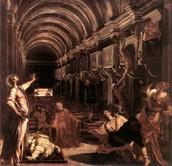 Saint Marks paintings